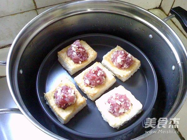 蒸酿豆腐怎么做