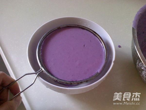 紫薯糯米糍的简单做法