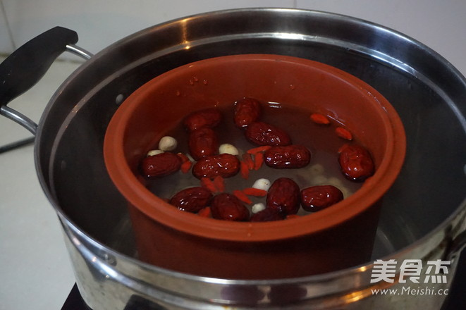 红枣莲子羹怎么吃