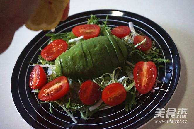 牛油果沙拉的简单做法