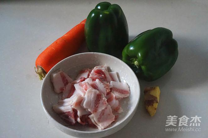 五花肉炒菜椒的做法大全