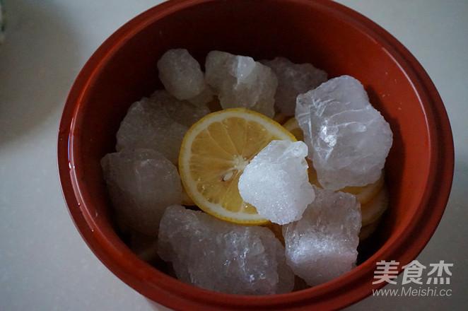 冰糖炖柠檬的简单做法