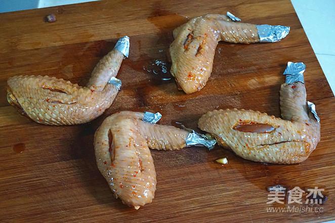 奥尔良烤翅怎么做
