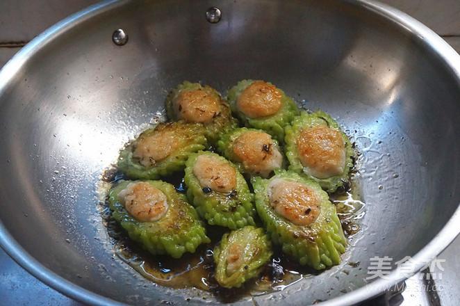 凉瓜酿鱼的步骤