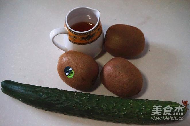 猕猴桃黄瓜汁的做法大全