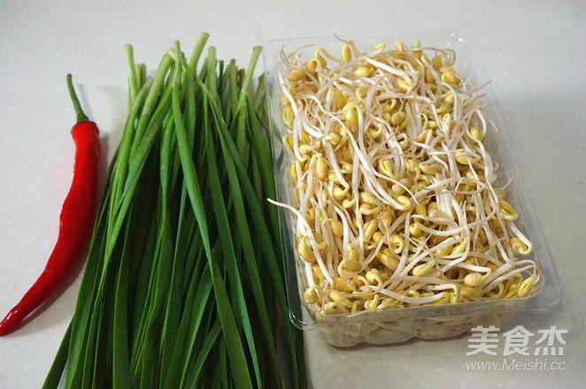 韭菜炒豆芽的做法大全