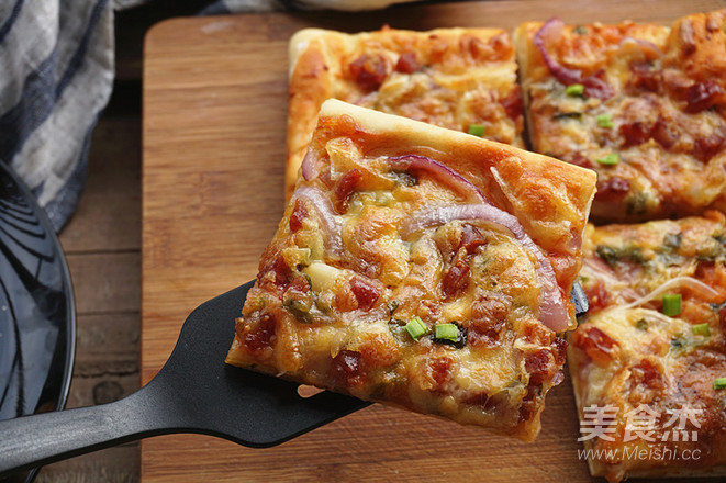 腊肠披萨怎么煮