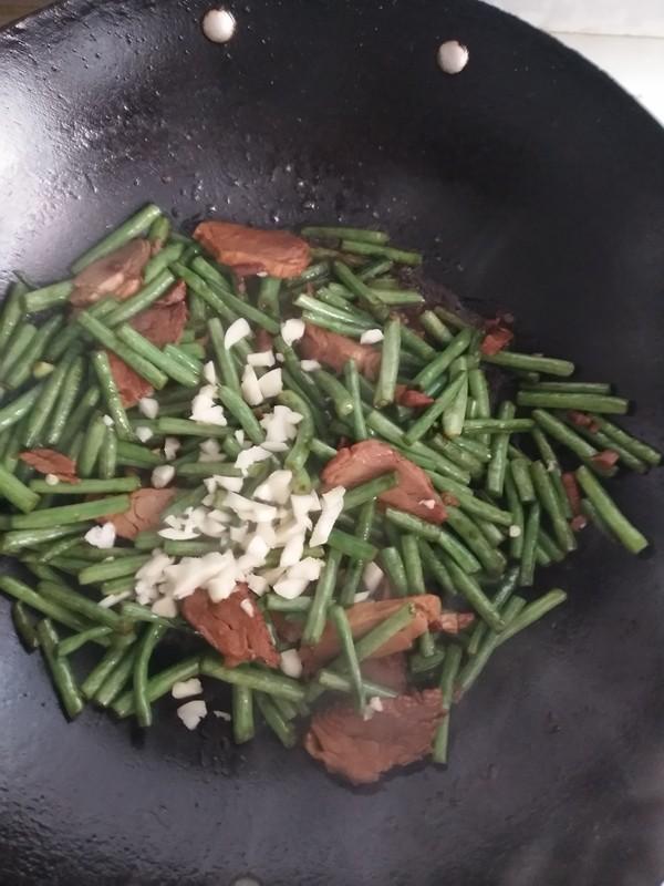 豇豆炒肉怎么炒