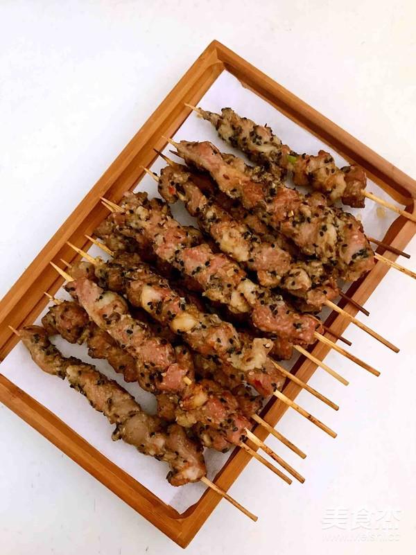 自制电烤羊肉串怎样做