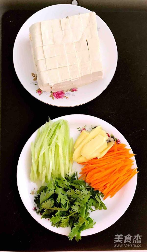 无油胡萝卜瓜丝豆腐汤的做法图解