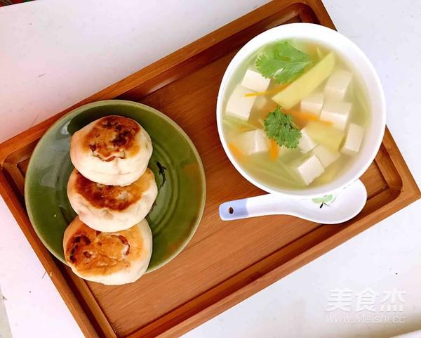 无油胡萝卜瓜丝豆腐汤怎么煮