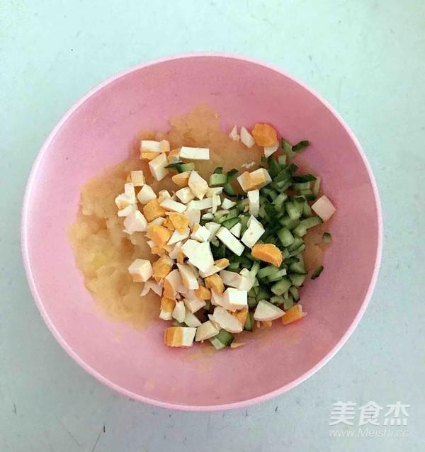 土豆泥沙拉的简单做法