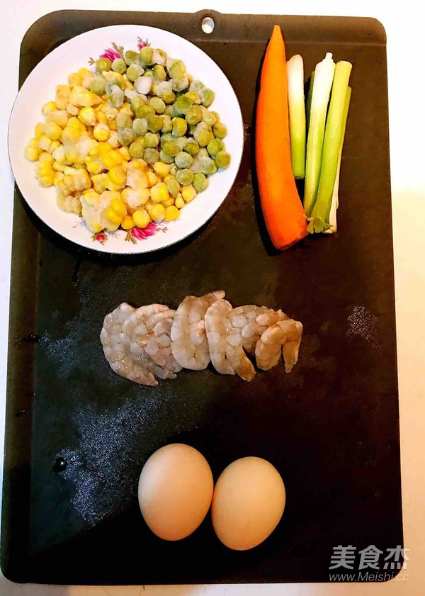 什锦虾仁焗饭的做法大全