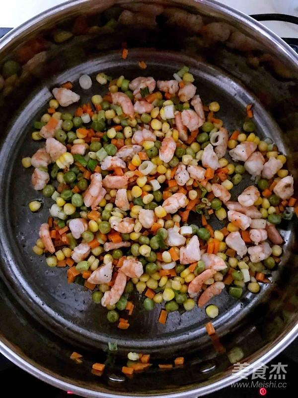什锦虾仁焗饭怎么吃