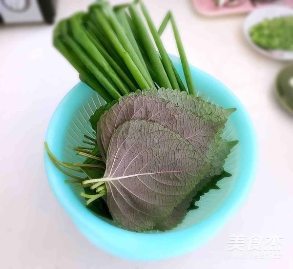 紫苏叶梅花肉卷的做法大全