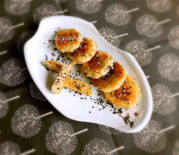 藕丁虾饼的制作方法