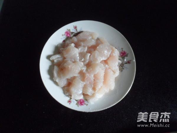 西芹炒鱼块的做法图解