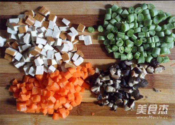 杂蔬炒饭的做法大全