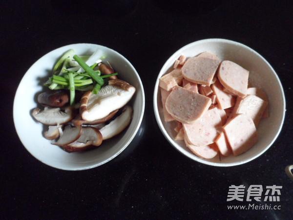 香菇烧午餐肉的做法大全