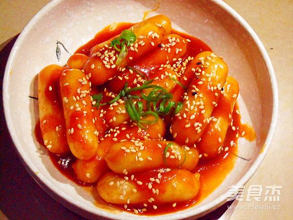 韩式炒年糕怎么吃