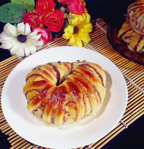 红豆沙面包的制作