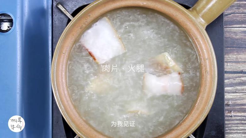 松茸鸡汤米线|牛佤松茸食谱的家常做法