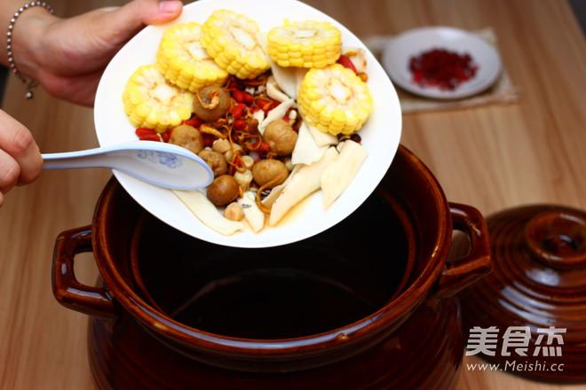 广东老火靓汤-虫草花干贝玉米汤的简单做法
