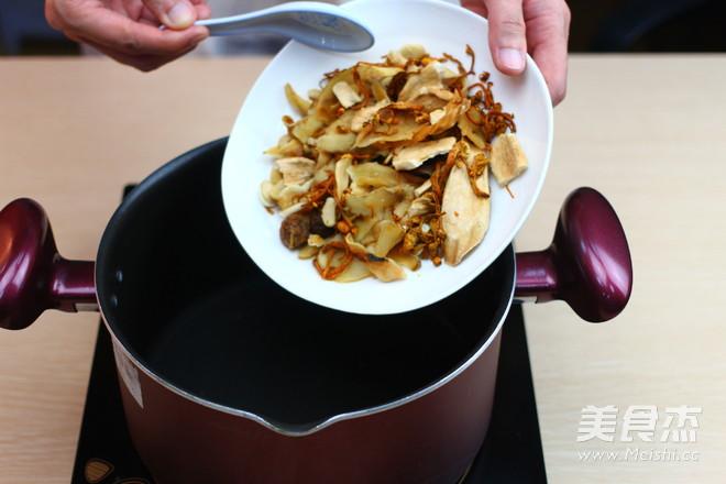 广东老火靓汤-西洋参健脾补气汤的家常做法
