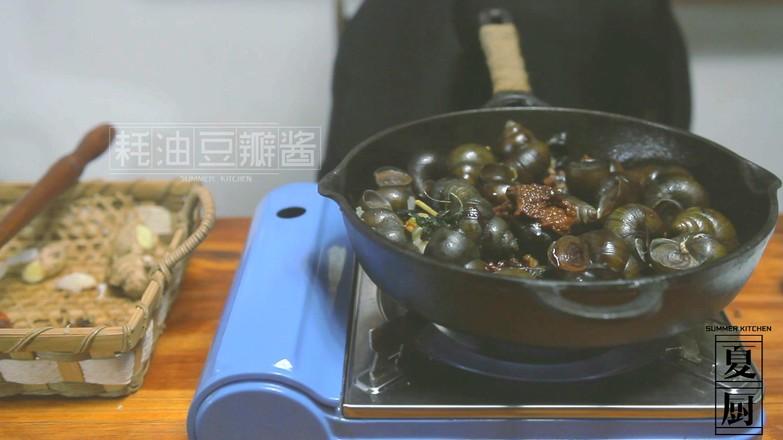 炒田螺怎么吃