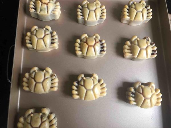 豆沙蛋黄月饼(螃蟹款)怎样做