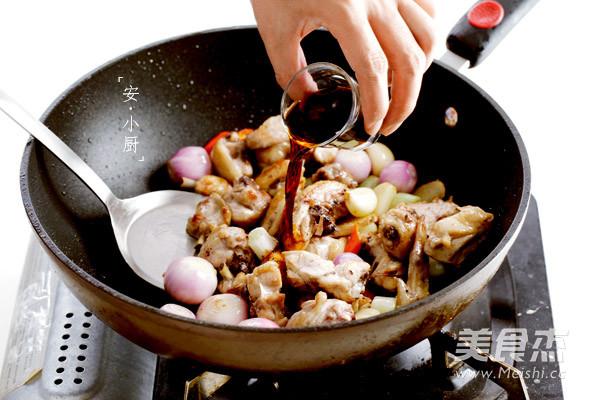 台式三杯鸡的简单做法