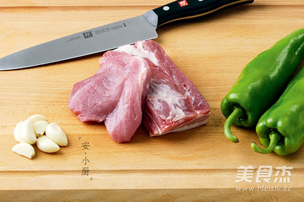 农家小炒肉的做法大全