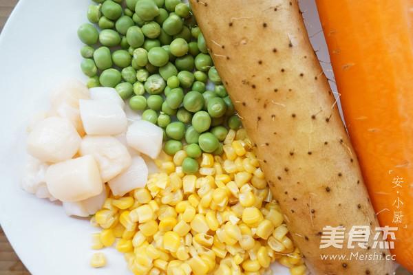 玉米鲜贝粒的做法大全