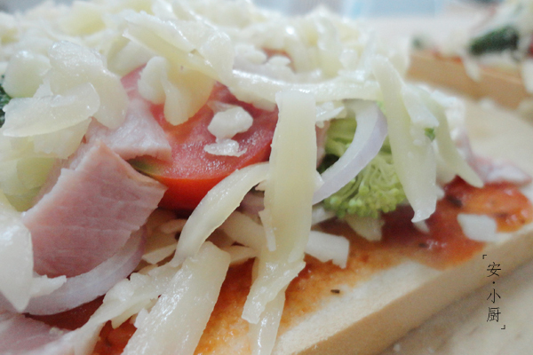 吐司小披萨的做法图解