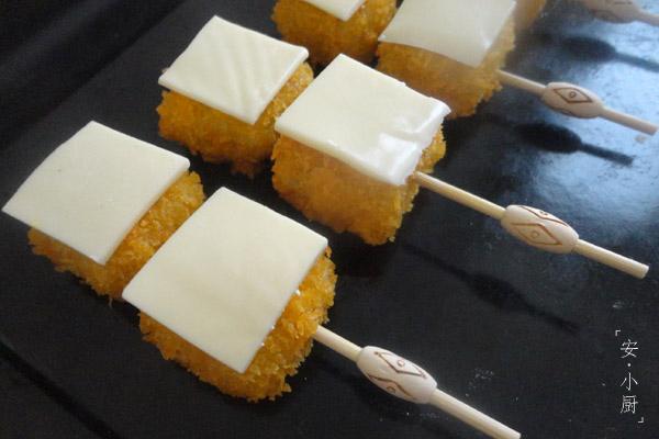 奶酪红薯串怎么做