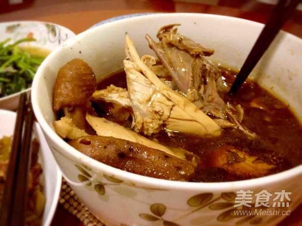 干锅茶香鸡做法图片
