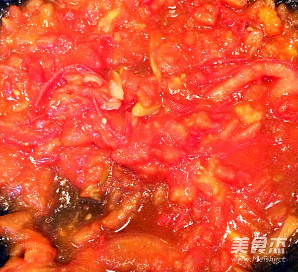 西红柿大虾混汤面的家常做法