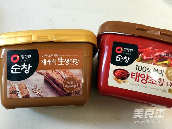 韩式酱汤喝起来的做法大全