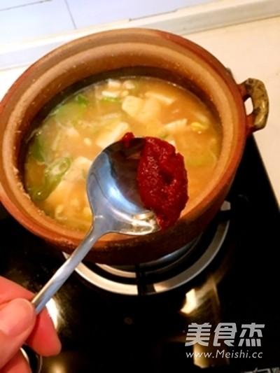韩式酱汤喝起来怎么炒