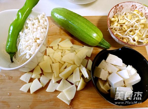 韩式酱汤喝起来的做法图解