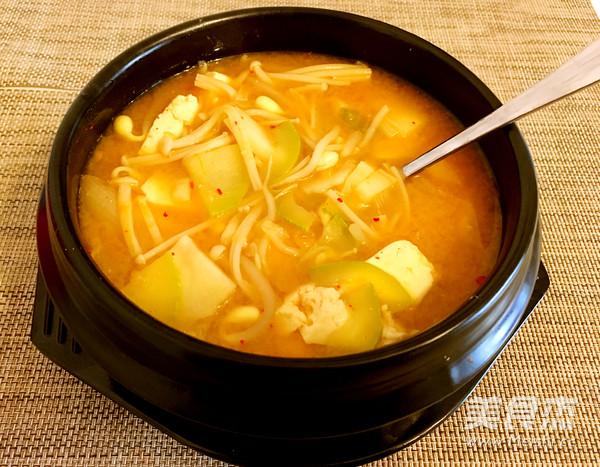 韩式酱汤喝起来怎么煮