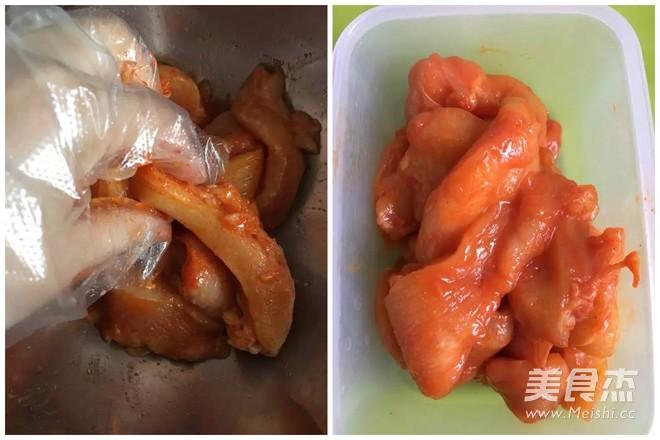 有颜值的美食之墨西哥鸡肉卷的做法图解