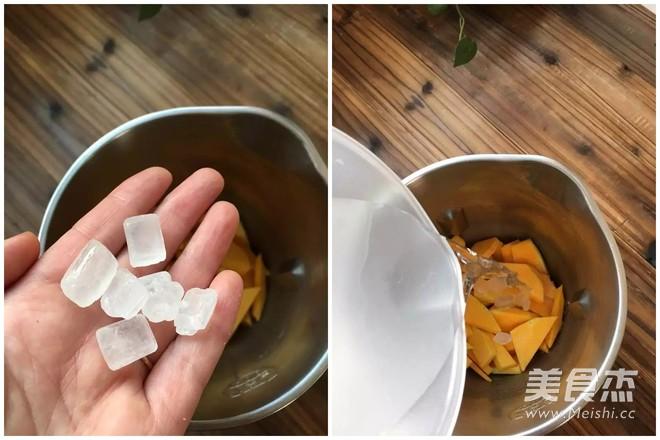 南瓜米糊补中益气饮品的家常做法