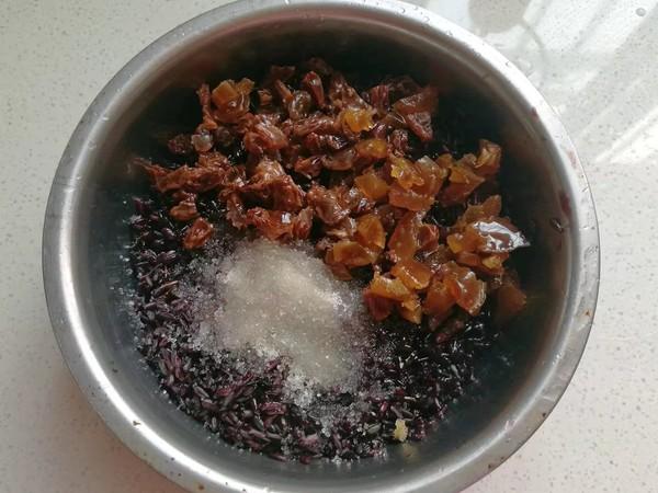 金瓜黑米饭怎么做