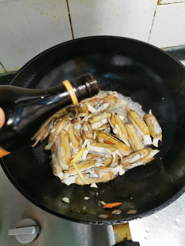 蒜香蛏子的简单做法