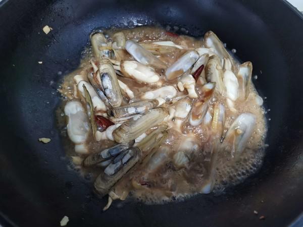 蒜香蛏子怎么吃