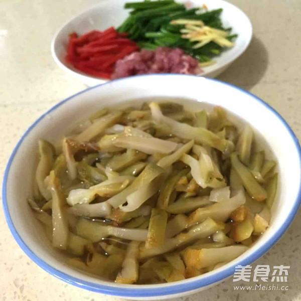 榨菜炒肉丝的做法图解