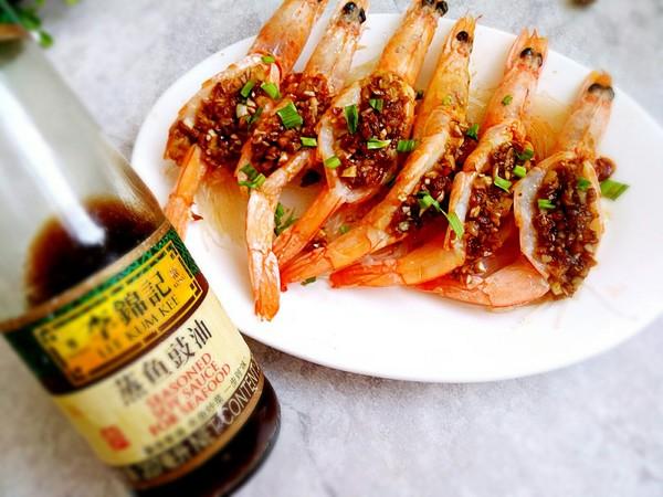 蒜蓉粉丝开背虾怎么炒