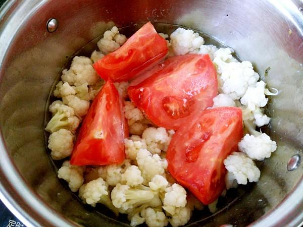 茄汁菜花怎么吃