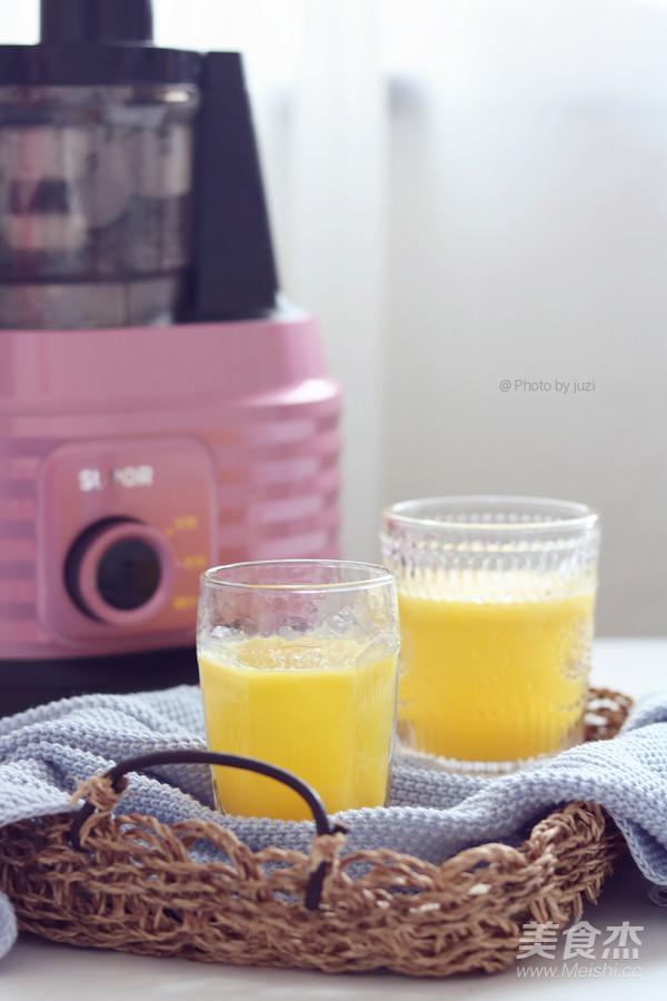 菠萝雪梨汁成品图